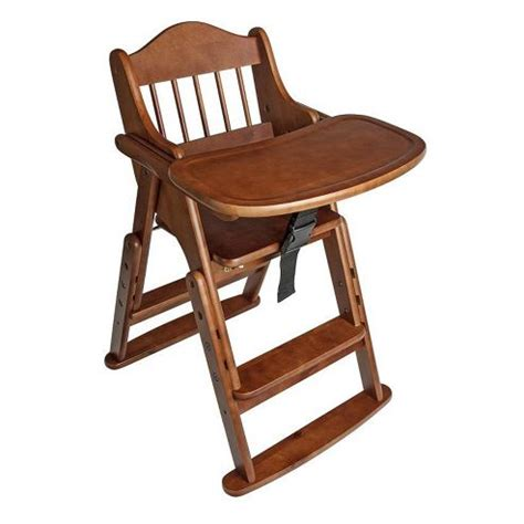 buy safetots folding wooden high chair wood from our