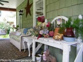 decorating with flowers front porch decorating porch