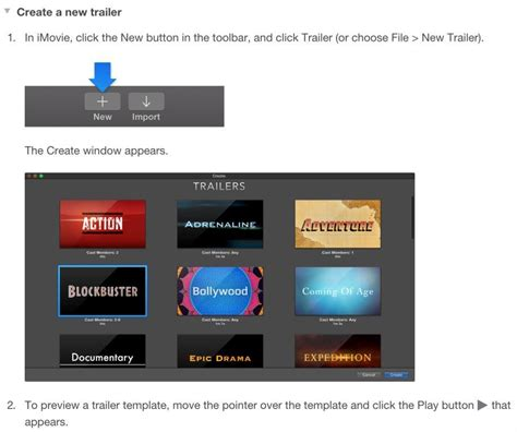 maker trailer templates how to make a book trailer in imovie part one indies