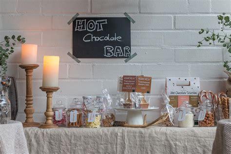 toppings for hot chocolate bar wintergem 252 tlichkeit hot chocolate bar