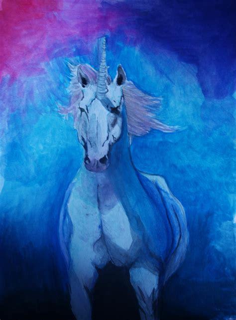 imagenes de fantasia unicornios unicornio azul by roberewe on deviantart