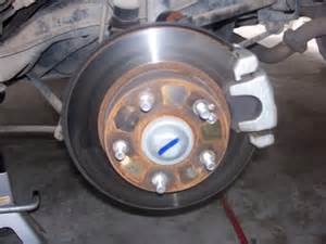 how to replace rear brake pads on 06 07 honda accords