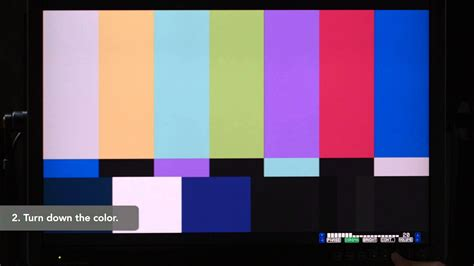 smpte color bars adjusting smpte color bars production lynda