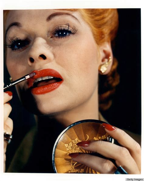 lucy o ball lucille ball s retro beauty look is no laughing matter