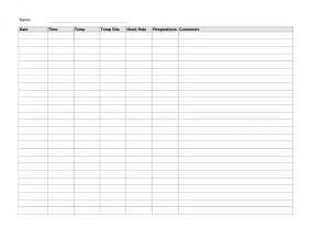 Vital Signs Template by Best Photos Of Vital Sign Record Sheet Template
