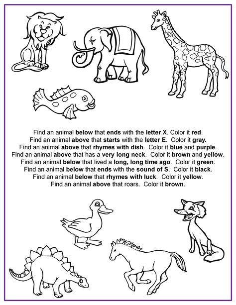 free printable following directions activities following directions worksheet kindergarten search