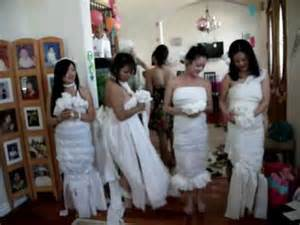 Bride Dress For Bridal Shower toilet paper the brides dress kim s bridal shower 3 17