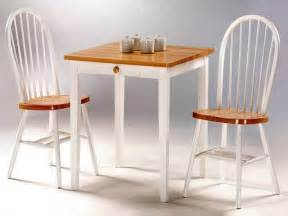 Small Kitchen Table With Chairs Chic White Kitchen Wood Wall Accent Small Kitchen Table And Chairs Home Design Ideas