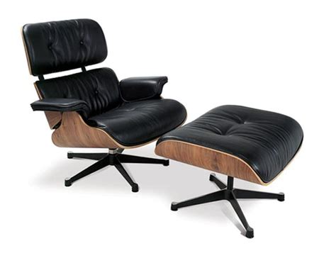 famous chairs charles and ray eames debut the herman miller lounge