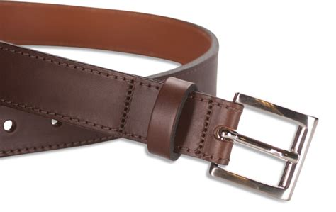 Handmade Leather Belts Uk - hawkdale mens uk handmade 1 25 quot genuine leather belt