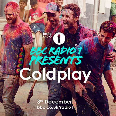 coldplay radio special show for bbc radio 1 coldplay