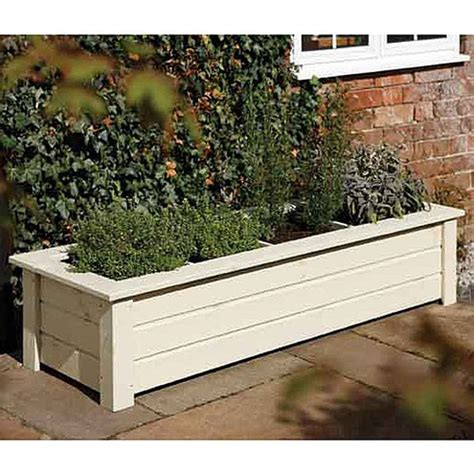 buy bamburgh herb planter patio planters webbs direct