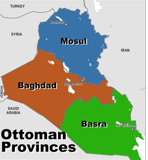 ottoman empire sunni time to partition iraq