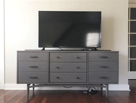 Wall Hanging Dresser by How To Hide Tv Wires For A Cord Free Wall House