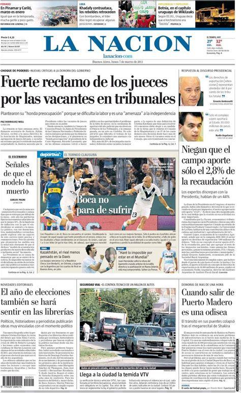 la nacion argentina la nacion periodico argentina hd 1080p 4k foto
