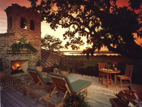 Tuscan Outdoor Fireplace by Photos Hgtv