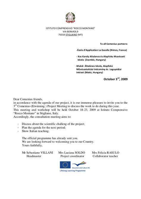 Invitation Letter For A Meeting Pdf comenius letter of invitation italy