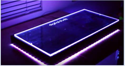 led acrylic edge lighting edge lit acrylic diy diy do it your self