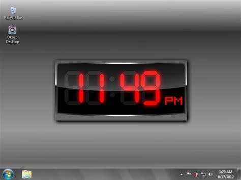 wallpaper clock windows 7 digital clock wallpaper windows 8 wallpapersafari