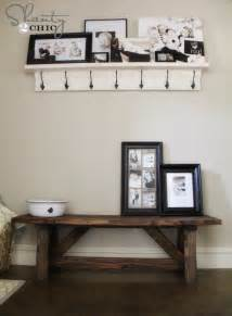 entry bench pdf plans diy entry bench woodworking plans