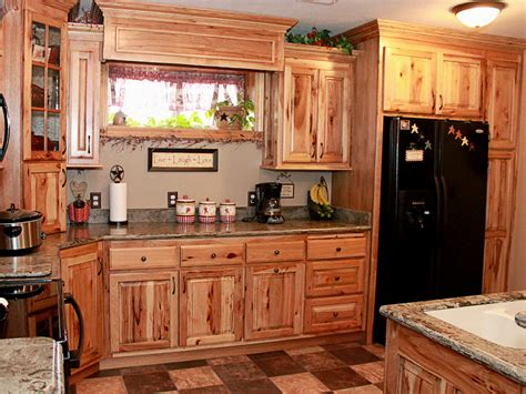 Hickory Kitchen Cabinet Hickory Kitchen Cabinets Kitchen Design