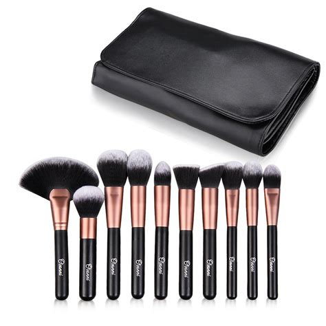 Makeup Brush Kit ovonni professional makeup brush kit set of 24 cosmetic make up brushes ebay