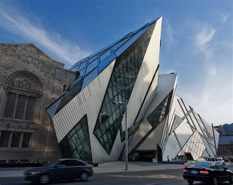 David Lee Architect by The Old And New Collide Royal Ontario Museum In Toronto