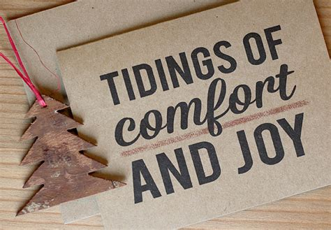 tidings of comfort and joy rustic christmas cards tidings of comfort and joy christmas
