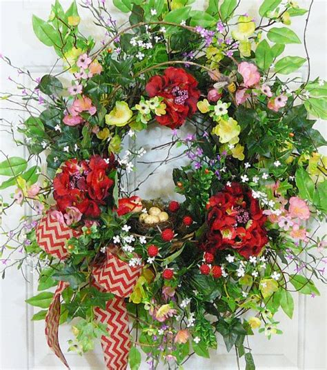 spring outdoor wreaths xl gorgeous full spring summer outdoor wreath