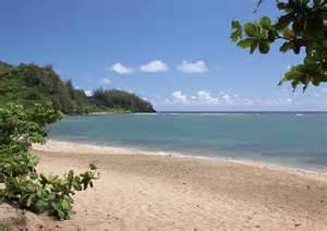 Hanalei bay beach by rau imaging