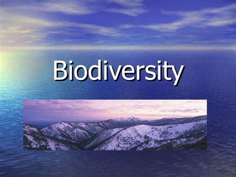 Biodiversity Powerpoint Biodiversity Ppt Template Free