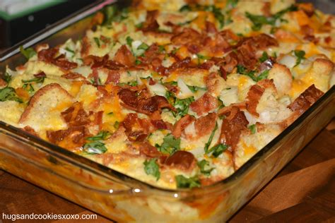 egg and spinach breakfast casserole