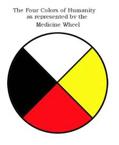 medicine wheel colors a brand new day may 2009