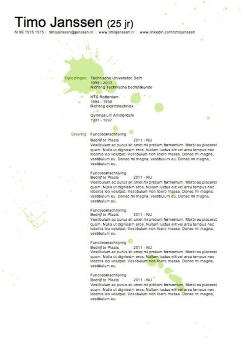 Cv Sjabloon Word 2010 25 Beste Idee 235 N Cv Sjablonen Op Cv Sjabloon Creative Cv Template En Cv Lay Out