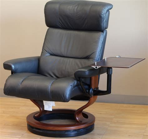 recliner table laptop stressless recliner personal computer laptop table for