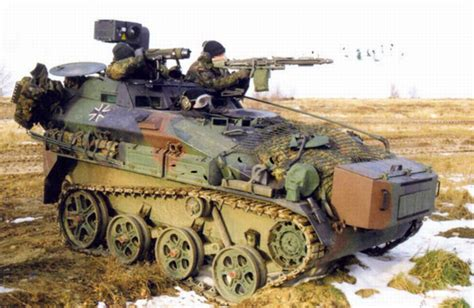 How To Tank A Basement - wiesel air transportable tracked armoured weapon carriers