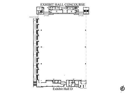 music city center floor plan exhibit hall d nashvillemusiccitycenter com