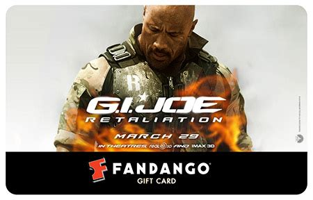 Roadblocks Gift Card - fandango gift card giveaway who do you want to watch in g i joe fandango