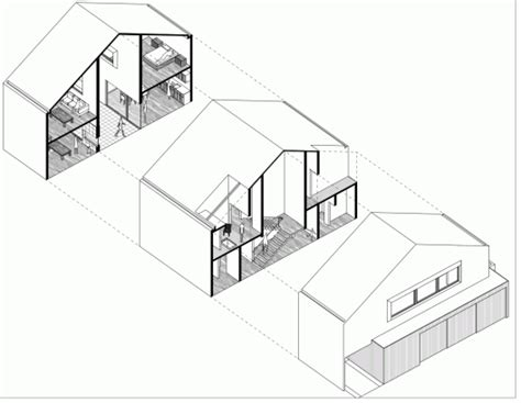 building floor plan detail with roof projection view dwg file hdj86 t38 studio pablo casals aguirre archdaily