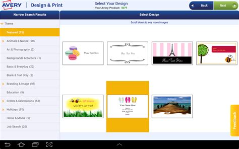 avery design template avery design print android apps on play