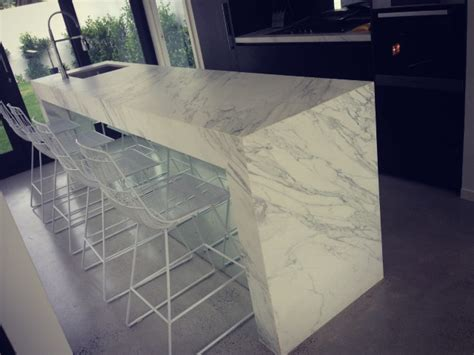 marble kitchen bench ask bec calacatta marble on benchtops rebecca judd