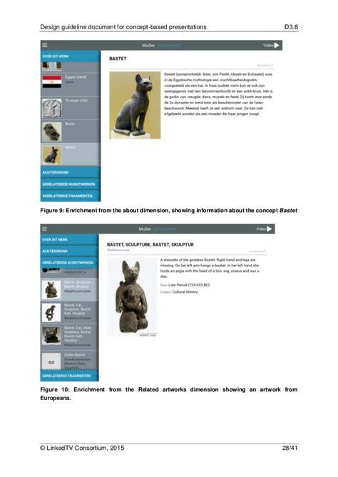 design concept document linkedtv deliverable 3 8 design guideline document for