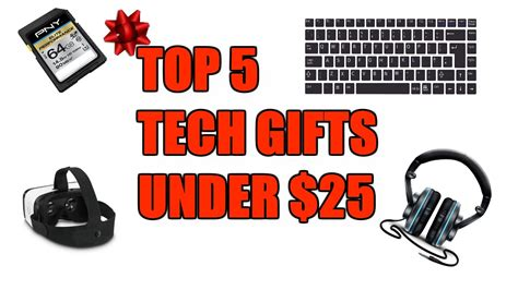best tech gifts under 25 top 5 tech gifts under 25 youtube