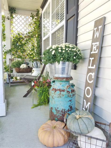 front porch ideas  fall  honeycomb home