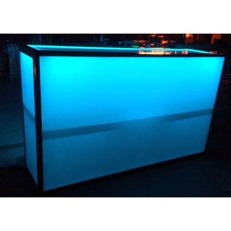 light up bar top acrylic folding light up bar b r innovations llc