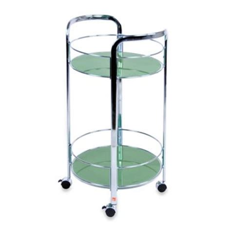 rolling bathroom cart buy green to cart from bed bath beyond