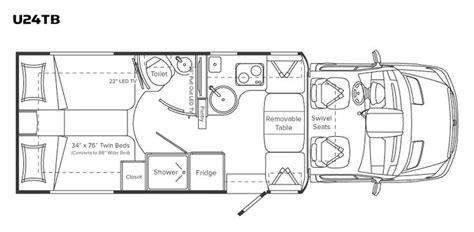 class b rv floor plans class b motorhome floor plan unity class b motor home