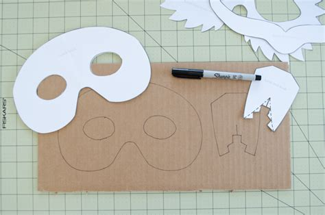 cardboard mask template diy cardboard animal masks for project nursery