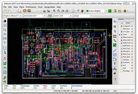 pcb layout software free download full version file extension brd kicad pcb design file