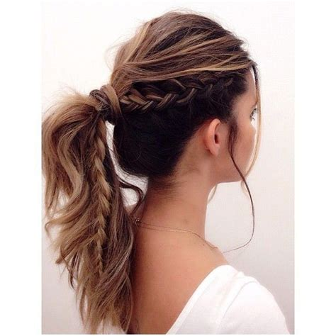 But Easy Hairstyles by 25 Best Ideas About Ponytail On